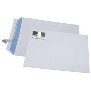Enveloppe FSC 229 x 324 sans fenêtre logo Marianne