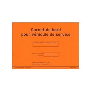 carnet de bord pour v hicule de service legaldoc. Black Bedroom Furniture Sets. Home Design Ideas