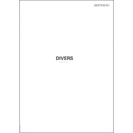 CHEMISE PAPIER-DIVERS-GESTION B-I
