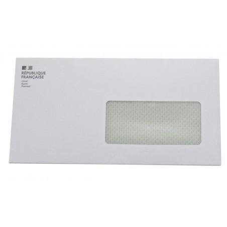 Enveloppe 110 x 220, Fenêtre 45X100 Marianne
