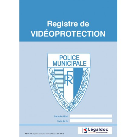 Registre de Vidéo Protection