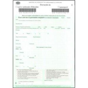 demande de carte d identite Demande de carte nationale d'identité/passeport pour Majeurs